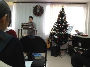 クリスマス礼拝 C姉の証し