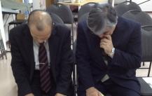 講演会前の祈りのひととき